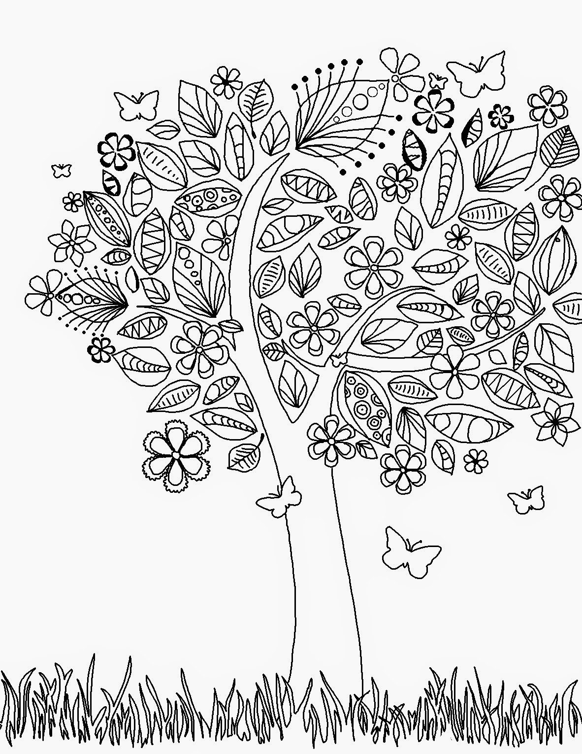 creative coloring pages for teens - photo#23